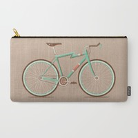 Bicycle Carry-All Pouch by Daniel Mackey