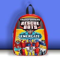 BDT 127 Transformers Rescue Bots Energize - Bag School Midle