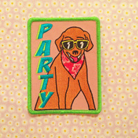 Party Dog patch