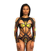 Raquelle Openwork One-piece