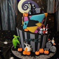 Cakes with Character: The Nightmare Before Christmas - Sparkly Ever After