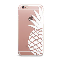 Pineapple Clear Phone Cases