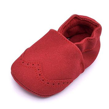 Baby Shoes For Boy Girls Kids Nu buck Baby Moccasins borns Infant Shoes Soft Shoes Sneakers First Walkers Autumn Boots