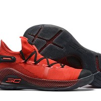 Under Armour Curry 6 - Red/Black