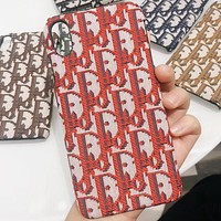 Dior Phone Cover Case For iphone 6 6s 6plus 6s-plus 7 7plus 8 8plus iPhone X XS XS max XR
