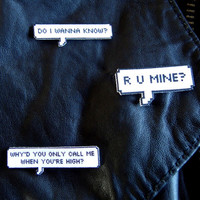 Arctic Monkeys AM Punk Pins
