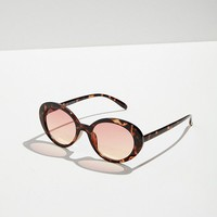 Sadie Oval Sunglasses | Urban Outfitters