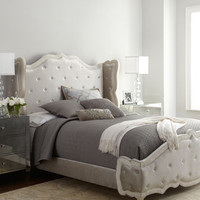 Haute House Champagne Tabitha Tufted Bed