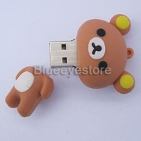 Cute 3D Rilakkuma Usb Flash Drive 8 Gb Usb Memory Stick Flash Pen Drive