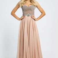 Empire Waist Chiffon Gown 88908 - Prom Dresses