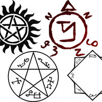 STICKERS Supernatural sigil sticker pack