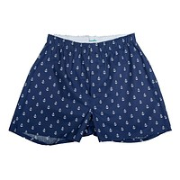 Anchor Boxers - Navy
