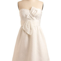 Max and Cleo So Nice in White Dress | Mod Retro Vintage Printed Dresses | ModCloth.com