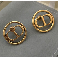 Special price of new Dior CD Circle Earrings