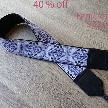 SALE 40 OFF. Padded Camera Strap. Comfortable Camera Strap. Accessories