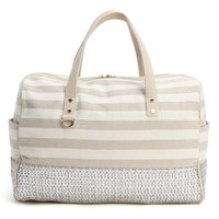 Deux Lux Silver Key Largo Weekender Bag DL513-122-SIL   South Beach Swimsuits