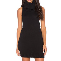 One Teaspoon Parisienne Nights Sleeveless Dress in Black