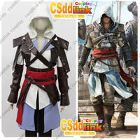 Assassin's Creed 4 IV Black Flag Edward Kenway Cosplay Costume