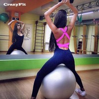 2018 Fitness Clothing Yoga Set Women Sexy Jogging Suits Gym Workout Clothes
