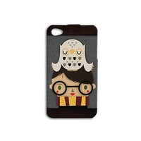 Cute Hedwig with Harry Potter Case iPhone Cover New Hot Phone Cool Kid Funny Fun