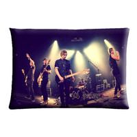 """SOS 5 Second of Summer - Case cover pillow 30"""" X 20"""" Two Side"""