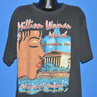 90s Million Woman March Philadelphia t-shirt Extra Large