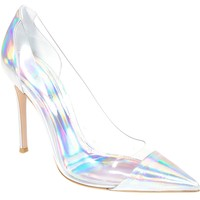 GIANVITO ROSSI iridescent pump