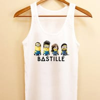 Funny Tank top bastille minions, Tank top Mens and Tank top girl Size S-XXL by AkuKuduKuat