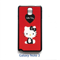 Hello Kitty Lovers Case Fit For iPhone Series , Samsung Galaxy Series and iPod 5