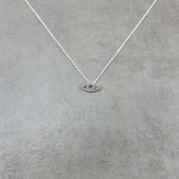 All-Seeing Eye Silver Necklace
