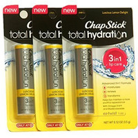 Chap Stick Total Hydration Luscious Lemon Delight (pack of 3)