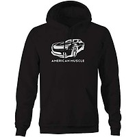 Champs Supply American Muscle Camaro SS z28 Racing V8 Car Hoodies for Men