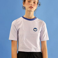 Damooshu Cropped Hen Icon Tee