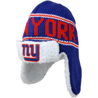 47 Brand New York Giants Yeti Trooper Knit Ski Hat- Royal Blue