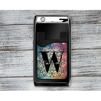 Personalized Cell Phone Caddy | Monogram Phone Wallet | Colorful