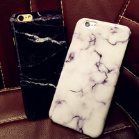 Unique Marble PC Iphone 6 S plus Cases