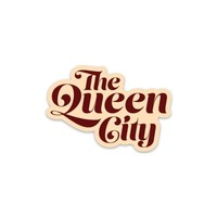 The Queen City Sticker (Retro Edition)