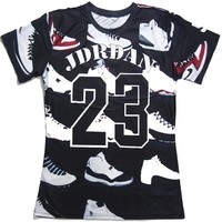 new fashion cartoon  3d t shirt men/women JORDAN 23 classic shoes print 3d t shirt hip hop t shirt plus size S-3XLKawaii Pokemon go  AT_89_9