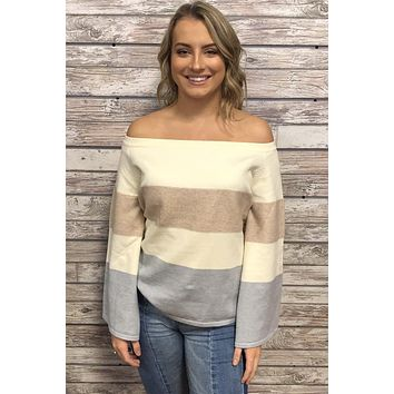 Day Dreaming Top- Blush