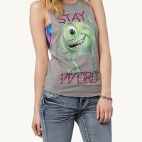 Stay Weird Monsters, Inc. Muscle Tank