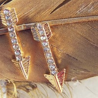 Feather Arrow Earrings