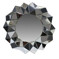 Exclusive Mirror with Polystone Frame By Benzara