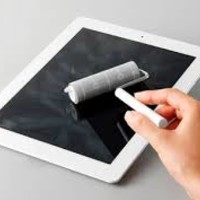 The touch panel cleaner only for a tablet