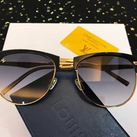 LV Women Men Fashion Shades Eyeglasses Glasses Sunglasses