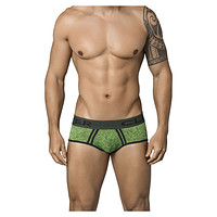 Clever 5349 Modern Piping Briefs Color Green