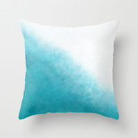 Flow Throw Pillow by Beth Thompson