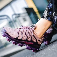 Nike Air VaporMax Plus Trending Women Stylish Air Cushion Sport Running Shoes Sneakers Pink/Purple