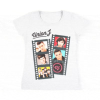 Union J Light Grey Fan T-Shirt