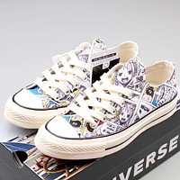 Trendsetter Converse One Piece Women Men Fashion Casual Low-Top Canvas Old Skool Shoes