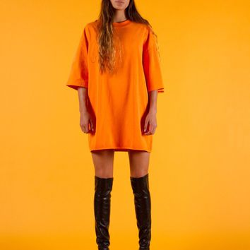 Essential Oversized T-Shirt | Orange